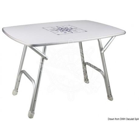 Tavolo pieghevole ovale 95 x 66 cm