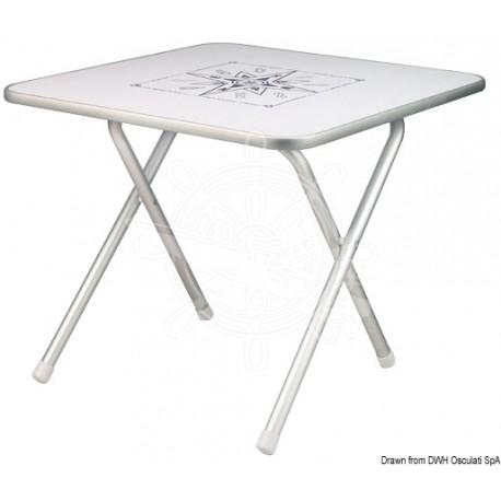 Tavolo pieghevole quadrato 60 x 60 cm