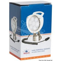 Faro portatile 7 LED 12/24 V